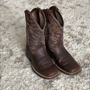 Ariat Toddler Boy Size 10.5 cowboy boots